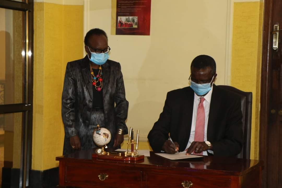 Changement à la tête de l'ISC du Kenya